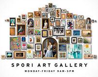 Spori Gallery Poster Design