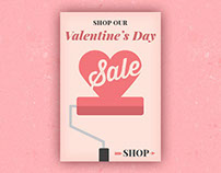 Valentine's Day Homepage Promotion