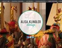 Alisa Klingler Online Portfolio- Preview