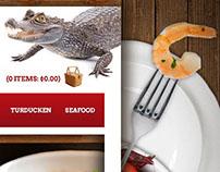 Food Website Header/Background