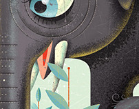 Animal Illustrations for Bookjigs