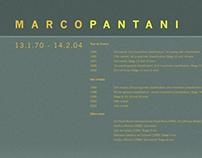 Marco Pantani Commemorative Poster