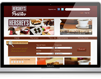 Website Hershey's®  Repostería