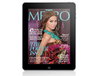 Metro Magazine Philippines iPad App - October 2010