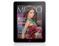 Metro Magazine Philippines iPad App - October 2010