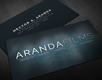 Arandafilms Business Cards