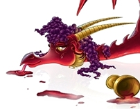 Alcohol dragons