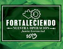 Junta de Franquiciatarios Super Salads 2013