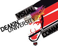 Deakin University Icon Brand Design