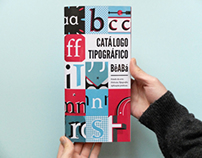 Typeface for Dyslexic - Catalogue #4