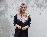Our beautiful Peonies & Roses Sweater