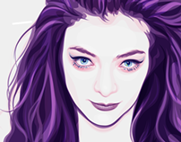 Portrait of Lorde