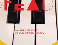 STEADY Jazz Band Poster