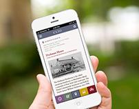 Clio iPhone App Design