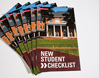 Domestic New Student Checklist (Spring 2013)