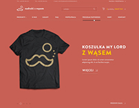 Nadruki z Wąsem / Overprints with Moustache , logo WWW