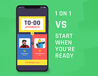 TO-DO Challenge - A mobile game solution