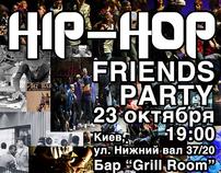 Hip-Hop Friends Party