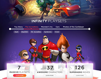 Disney's Infinity websites