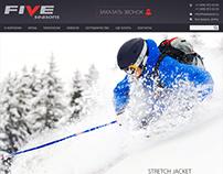 Интернет-магазин одежды Fiveseasons на CMS Shop-Script