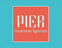 Pier Regular Typeface