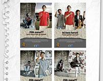 "Poster Series of ""SAHABAT"""