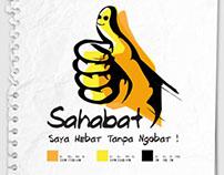 "Logo for ""SAHABAT"" Campaign"