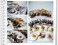 """Merchandise for """"SAHABAT"""" Social Campaign"""