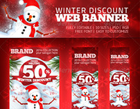 Winter Discount - Web Banner