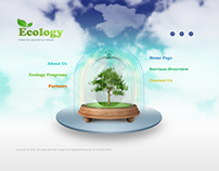 Ecology Protection Dynamic Flash Template