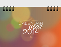 IRIS Home Fragrances - Desk Calendar - 2014