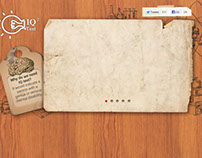 IQ Test Landing Page