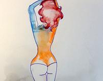 DAY 08: aquarel (24-01-2014)