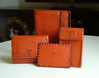 Collection of leather products