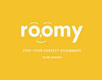 Roomy - room-mate application/website