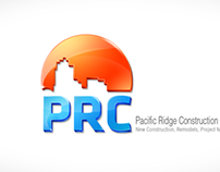 Pacific Ridge Construction logo design