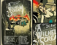 A Wilhelm Scream tour poster 2014