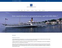 Caisse d'Epargne de Nyon - Web Design