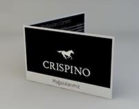 CRISPINO Store Card Design