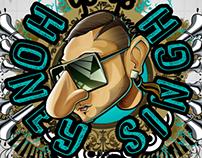 H for____ Honey Singh