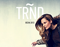 TRND MAGAZINE LAYOUT