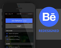 Behance Redesigned