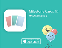 Baby Milestone Cards app