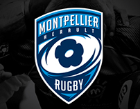 Branding Montpellier Hérault Rugby