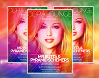 Flyer Desing for Copia Lounge