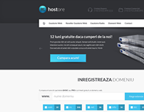 Hostore - Web Design