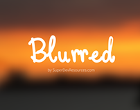 Blurred - A set of Free Blurred Background Images