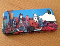 Seattle iPhone Hardcase