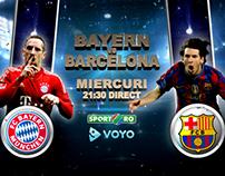 Bayern vs. Barcelona UCL 2013