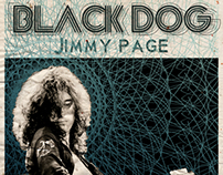 Black Dog - Jimmy Page poster